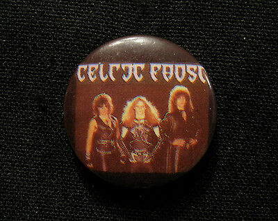 "Celtic Frost Vintage Badge  1"" Button Pin Uk Import"