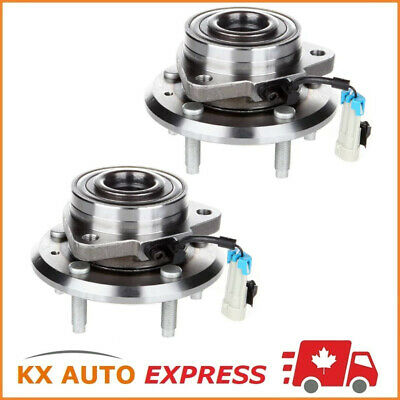 2x FRONT WHEEL HUB BEARING ASSEMBLY FOR PONTIAC TORRENT 2007 2008 2009