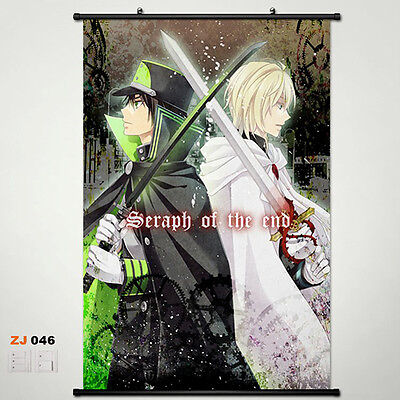 Seraph of the end OwarinoSeraph Wallscroll Stoffposter Wallposter 60x90cm 025