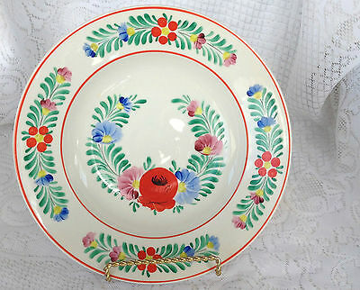 Hollohaza Handpainted Floral Bowl Made in Hungary (112)