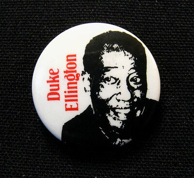 "Duke Ellington Vintage 1"" Badge Button Pin Uk Import"