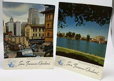 Southern Pacific Railroad : San Francisco Overland Breakfast/lunch Menus 1956