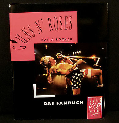 "Vintage Guns N' Roses Book  ""das Fanbuch"" +++Fold Out Poster ---In German---"