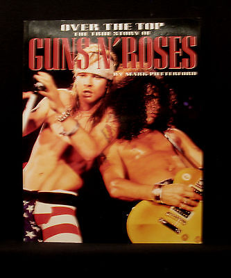 """Vintage 1993 Guns N' Roses Book    """"over The Top"""""""