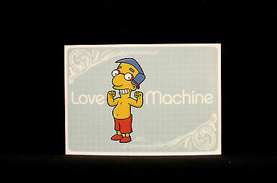 "The Simpsons New  Postcard  Uk Import  ""love Machine"""