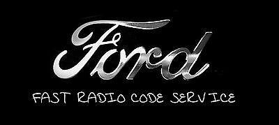Ford Radio Unlock Code Sony 6000 6006 +++ Radio V or M Serial Number Decode