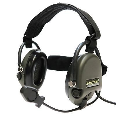 Z-Tactical Liberator II Radio Head Set Foliage Green Army Style Airsoft Element
