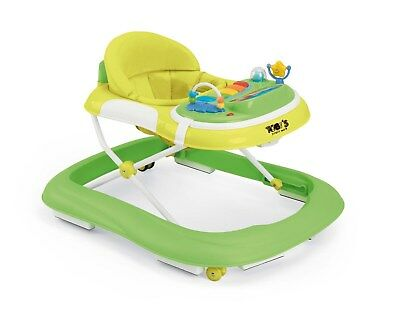 Baby Entertainment Comfy Walker Musical Play to Walk Baby Padded Seat Walker