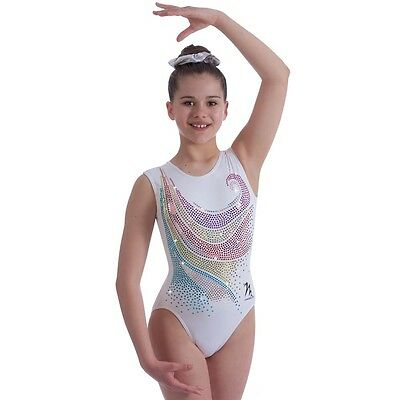 "Milano Pro Sport Gymnastic leotard 'Adella Bodice 170636 Sizes 26""-36""  NEW"
