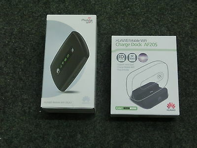 Huawei Mobile WiFi E5251 Router + Huawei Charge Dock AF20S in OVP !