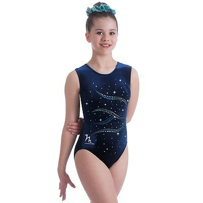"Milano Pro Sport Gymnastic leotard 'Immerse Bodice 170638 Sizes 26""-36""  NEW"