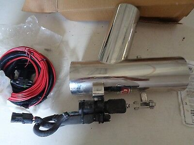 One Ea Corsa Captains Call Diverter w/ electrical wire harness #33333 and #10882