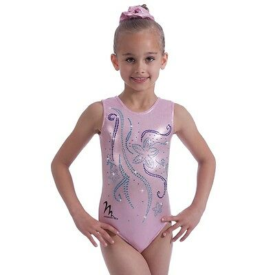 "Milano Pro Sport Gymnastic leotard Azalea Bodice170657 Sizes 22""-30""  NEW"