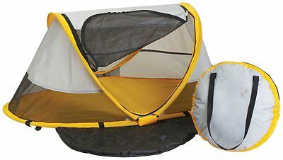 KidCo PeaPod Infant Portable Travel Child Bed Tent Sleeper in Sunshine