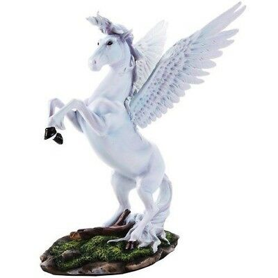 "11.25"" Height Mighty Pegasus Horse In Fairy Land Figurine Fantasy Decorative"