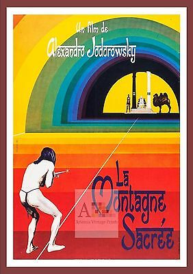 The Holy Mountain 2   Psychedelic Movie Posters Classic Vintage  Cinema
