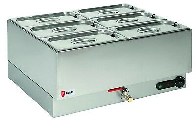 Parry 1985 Wet Well Gastronorm Bain Marie (Boxed New)