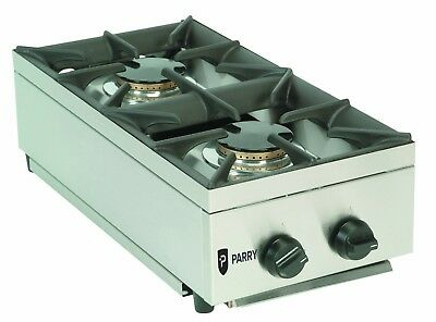 Parry AG2H Natural or Propane Gas 2 Burner Hob (Boxed New)