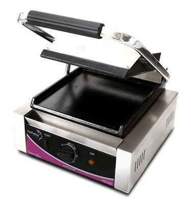 Pantheon CGS1S Small Single Smooth Contact Grill (Boxed New)