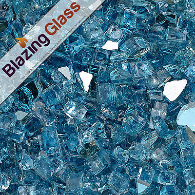 Blazing Glass Reflective Fireglass 1/4 Inch