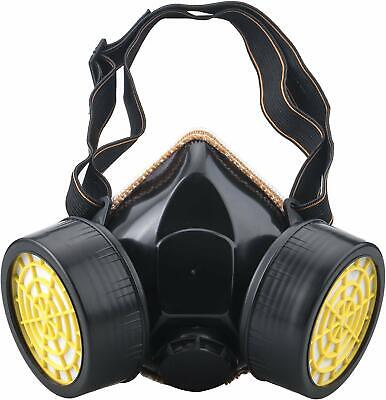 Plain Gas Mask Respirators for Burning Man With Dual Filter For Dust Punk Gothic
