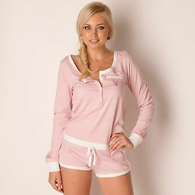 Bnwt Ladies Playboy Size 14 & 16 Pyjamas Shorts Pj's Next Day Post Women Nightie
