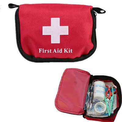 Mini Kit Bag Hiking Outdoor Camping Emergency First Aid Survival 2016 Travel