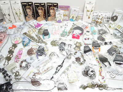 240 Piece Brand New Mixed Fashion Costume Jewelry Lot