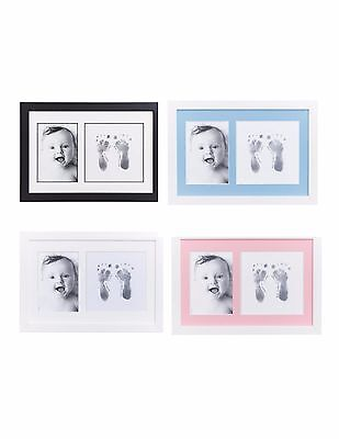 Baby Made Photo Frame Inkless Baby Foot or Hand Print Kit 8 x 12 Baby Keepsake