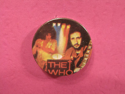 The Who Vintage Badge Button Uk Import Mods 2 Tone Ska Skins Uk Made