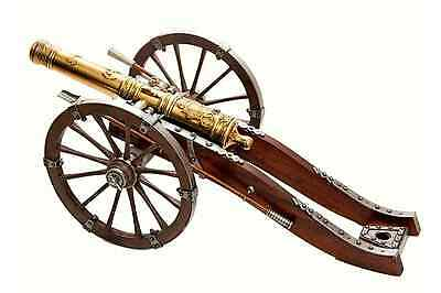 "18th Century Louis XIV 27"" Cannon - Colonial - Revolutionary War - Denix Replica"