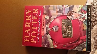 Harry Potter and the Philosopher's Stone by J. K. Rowling (2000, Paper) **RARE**