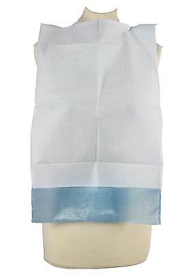 Adult BIB BIBS Disposable with Pocket Dining Clothing protection ties pls select
