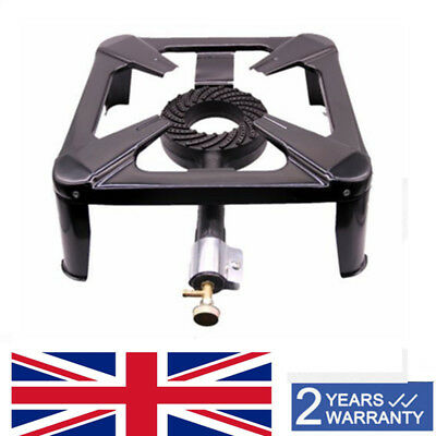 Hi-power Cast Iron Large Gas LPG Burner Cooker Gas Boiling Ring Restaurant Cater