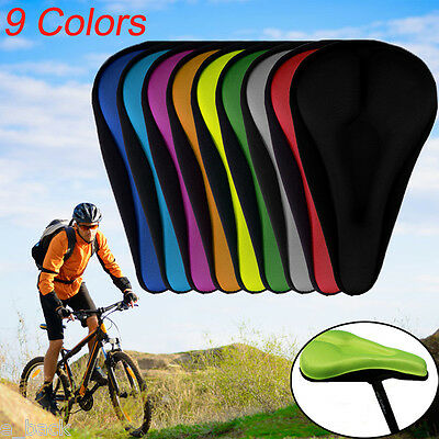 Riding Road MTB Comfort Gel Saddle Bike Bicycle Cycling Seat Cushion Pad Durable