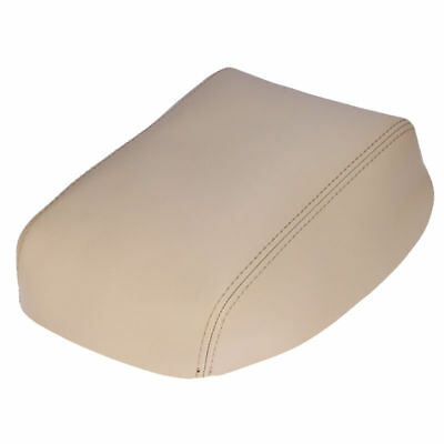 Armrest Center Console Leather Synthetic Cover Fit Toyota Highlander 08-13 Beige