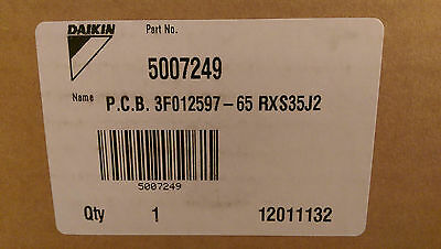 Daikin Air Conditioning 5007249 PC Board NEW - RXS35J2 outdoor