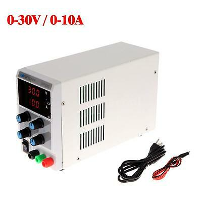 30V 10A Mini Variable Precision Adjustable LED Digital Regulated DC Power Supply