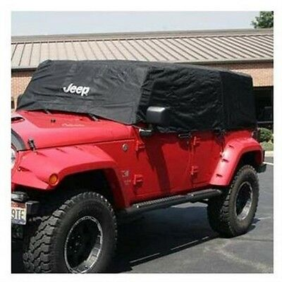 2007-2016 Jeep Wrangler Unlimited 4 Door CAB COVER VEHICLE COVER MOPAR OEM NEW