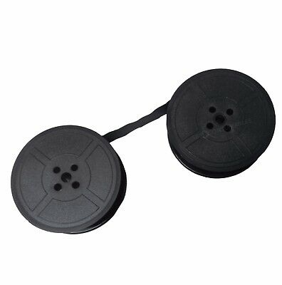 Typewriter Ribbon Twin Spool 4 Holes  Black Will Fit Most Old Typewriters 1066Fn