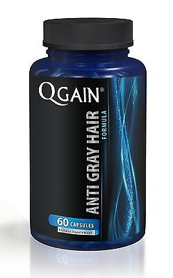 QGAIN Anti Gray Hair Formula 60 Capsules