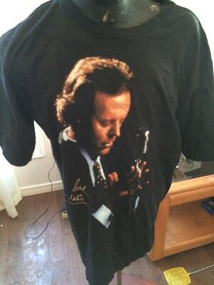Mens T-Shirt Adult XL Julio Iglesias With Love