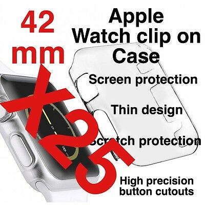 X25 Apple Watch 42mm Clip On Case Screen Protector