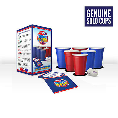 Party Beer Pong Set -  Genuine Solo Cups