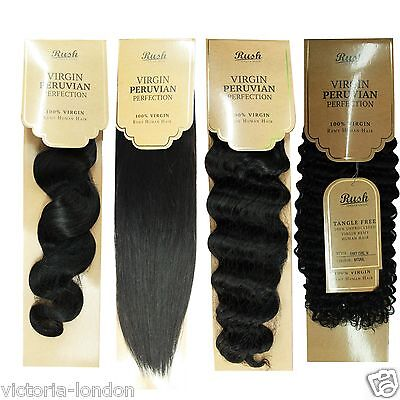 315g / 3Bundles Premium Peruvian Brazilian 100% Virgin Human Hair Unprocessed