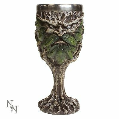 Wildwood Goblet 17cm High Gothic Chalice Pagan Halloween