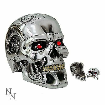 Terminator 2 T800 Head Box 12cm High Licensed Product