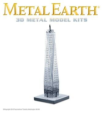 Fascinations Metal Earth One World Trade Center Laser Cut 3D Model