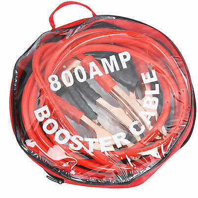 Heavy Duty 800Amp Car Van Jump Leads 2 Metre Long Booster Cables Start