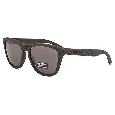 8e5dda04a8 Oakley Frogskins Woodgrain Sunglasses OO9013-89 Prizm Daily Polarized Lenses